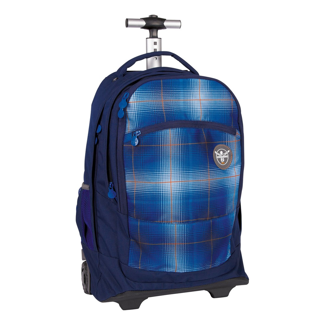 "32386f380e5a9 Plecak Trolley Chiemsee WHEELY ""L0551 PLAID REGATTA"" – Noś to ..."